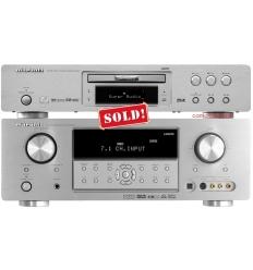 Marantz SR4001 7.1 Amp. DV7600 Uni Player