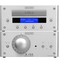 Musical Fidelity X-150 Integrated Amplifier , X-RAY V3 CD Player camarossaudio