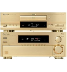 Pioneer VSA-E06 Amplifier DV-717 Player