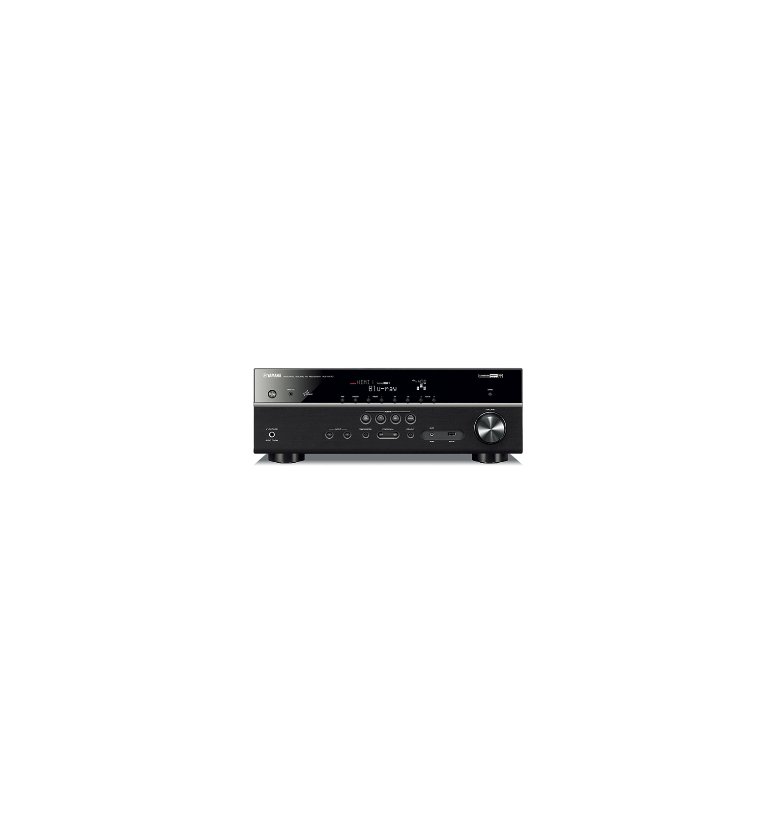 yamaha rx v477 5 1 network av receiver with airplay. Black Bedroom Furniture Sets. Home Design Ideas