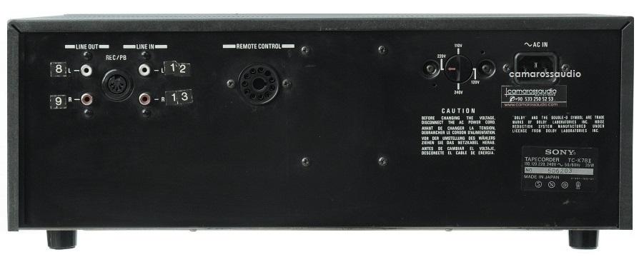 Sonytck7bii  Cassettedeck  Casetcalar  Kaset  Sony  Tck  Sony  Ses