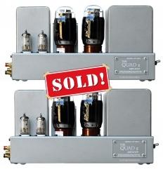 QUAD 2 22 Pre & Power Amplifier
