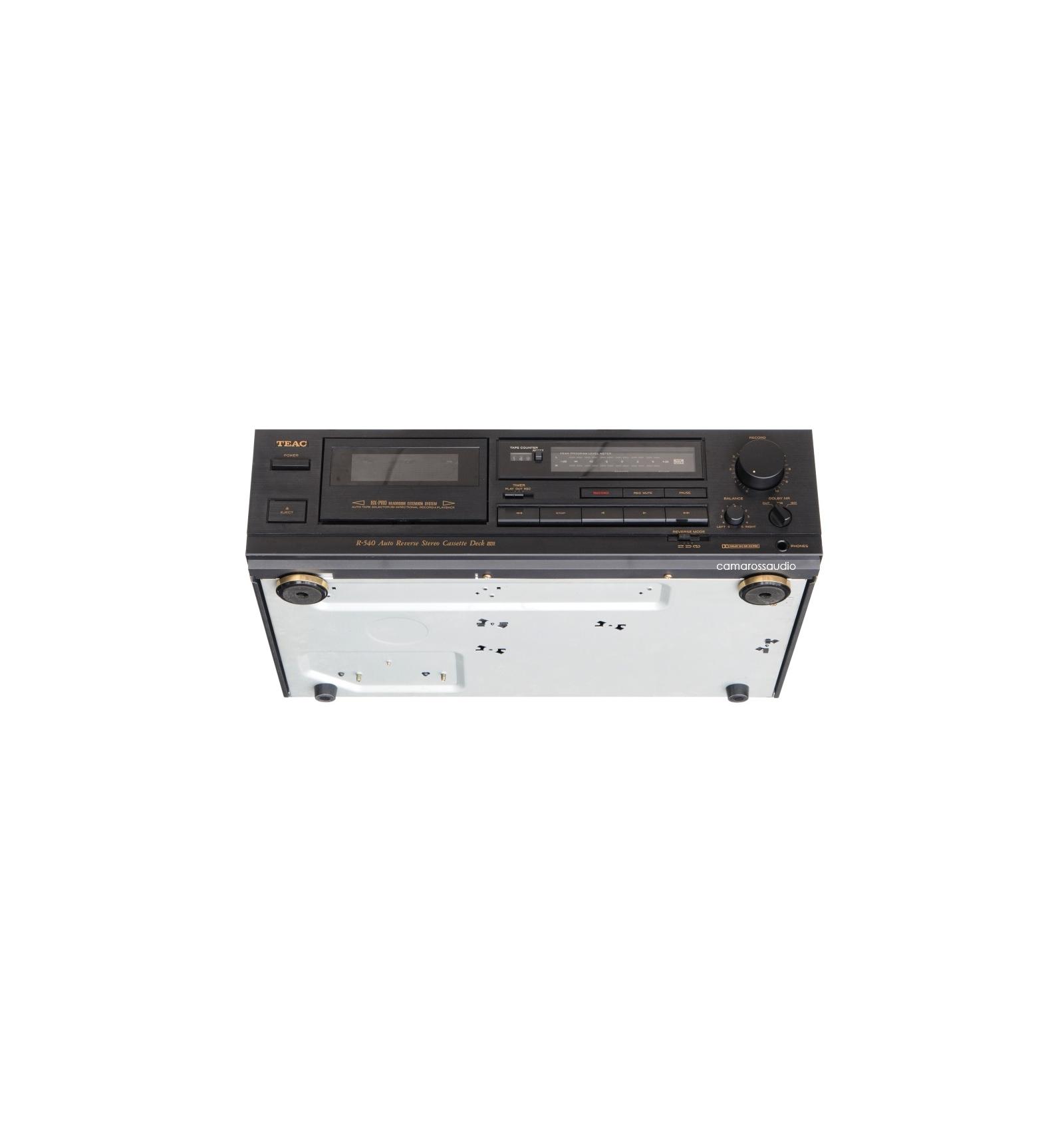 Teacr540  Teacv 540  R540  Cassettedeck  Teac  2head  2motor  Tape