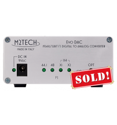 M2Tech EvoDac 192/32 digital-to-analog converter