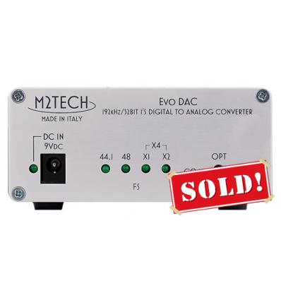 M2Tech EvoDac 192/32 digital-to-analog converter
