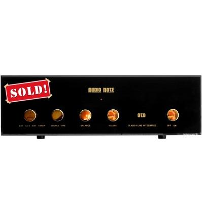 Audio Note OTO Valve Integrated Amplifier