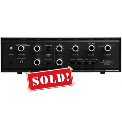 Sansui AU-555 Solid State Stereo Amplifier