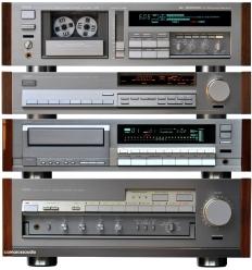 YAMAHA AX-2000, CDX-2000, TX-2000, KX-1200