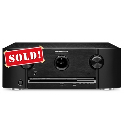 Marantz SR6008 7.2-Channel 1080P and 4K Ultra HD Pass Through, Networking Home Theater Receiver with AirPlay