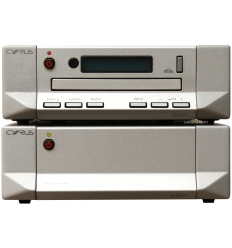 Cyrus Quattro CD-Pre & Q-Power Stereo Power Amplifier