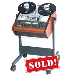 STUDER A-807 Master Tape Recorder Remote Control+stand+Nub+Reel