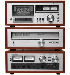 Kenwood Trio KA-405 Amp. / KT-313 Tuner / KX-550 Cassette Deck