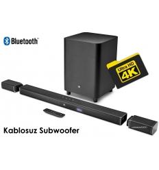 jbl 5.1 4k ultra hd soundbar & truewireless speakers / Wireless Subwoofer