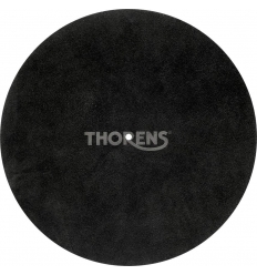 Thorens Platter Mat Leather Black ( Deri )