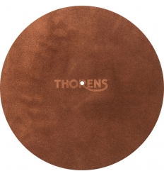 Thorens Platter Mat Leather Brown ( Deri )