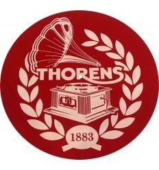 Thorens Platter Mat ( Mat Kırmızı Thorens logolu )