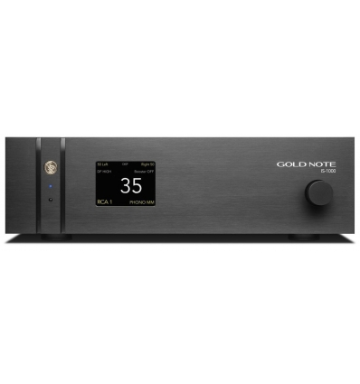 GOLD NOTE IS-1000 Deluxe Super Integrated Amplifier / Streamer