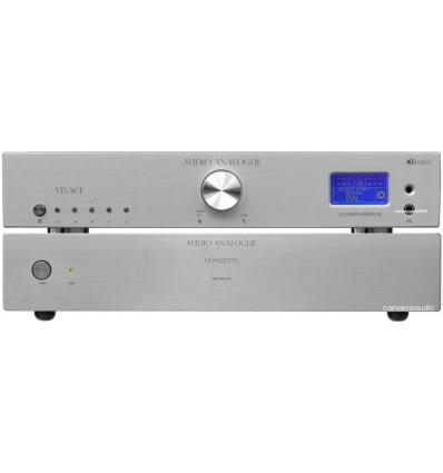 Audio Analogue Donizetti Power & Vivace Preamp - DAC