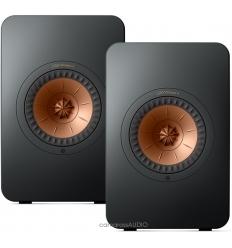 KEF LS50 Wireless 2 ( Carbon Black )
