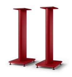 KEF S2 Speaker Stand Crimson Red