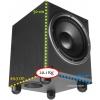 JBL E250P/230 dimensions