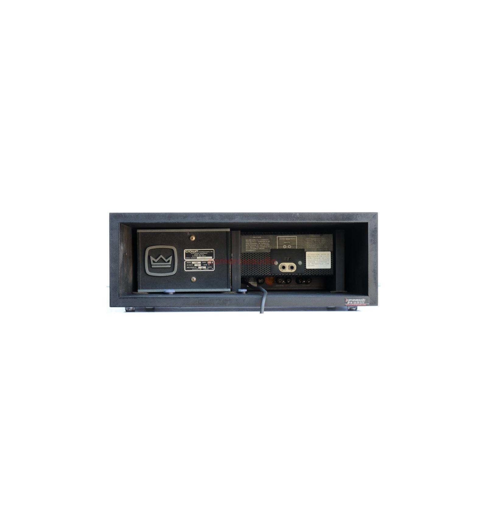crown d150 a power amplifier camaross audio hifi high detail. Black Bedroom Furniture Sets. Home Design Ideas