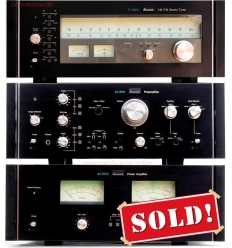 Sansui CA-2000 Pre BA-2000 Power Amplifier TU-9900 Tuner