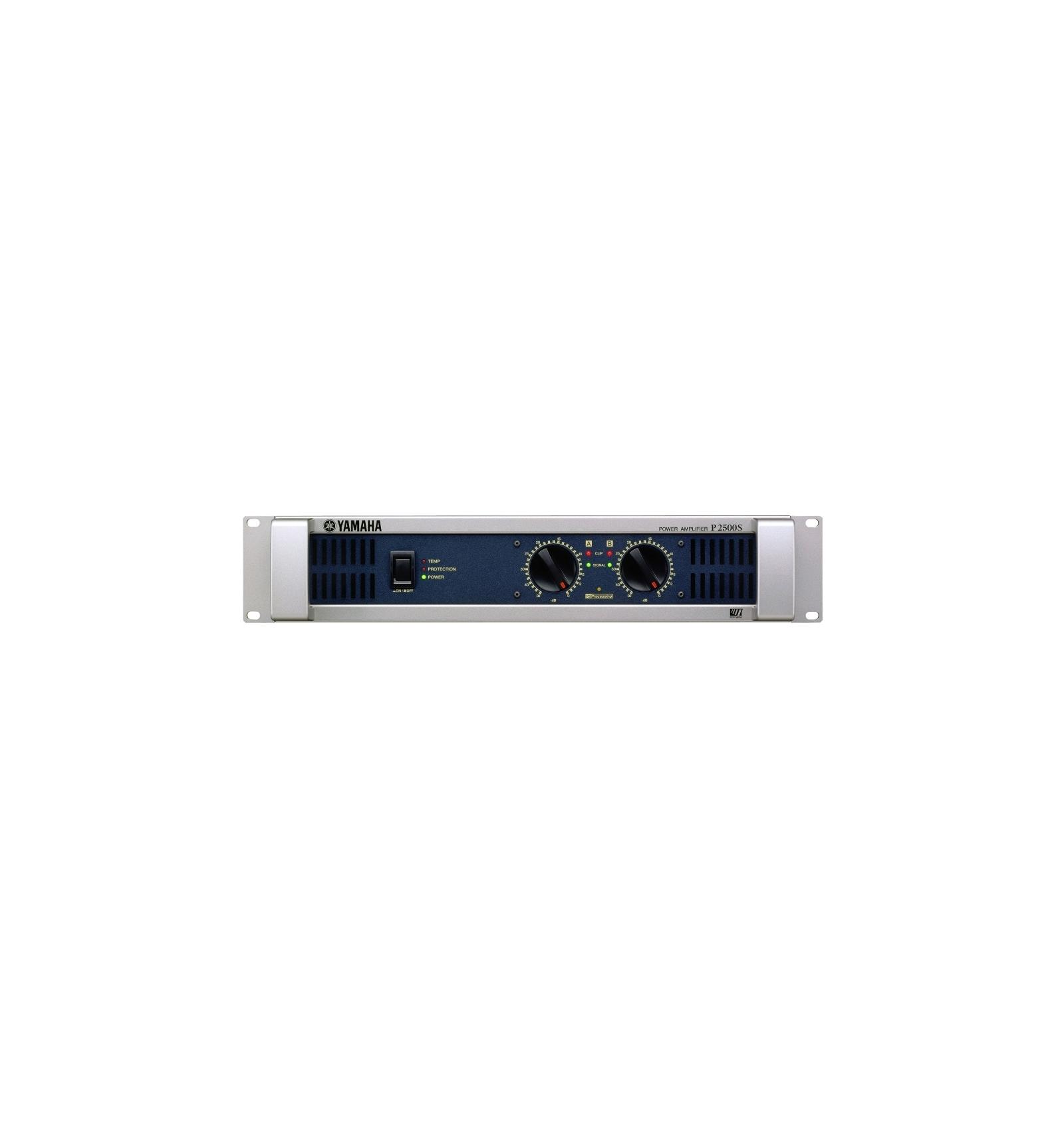 yamaha p2500s power amplifier 2 adet camaross audio hifi high detail. Black Bedroom Furniture Sets. Home Design Ideas
