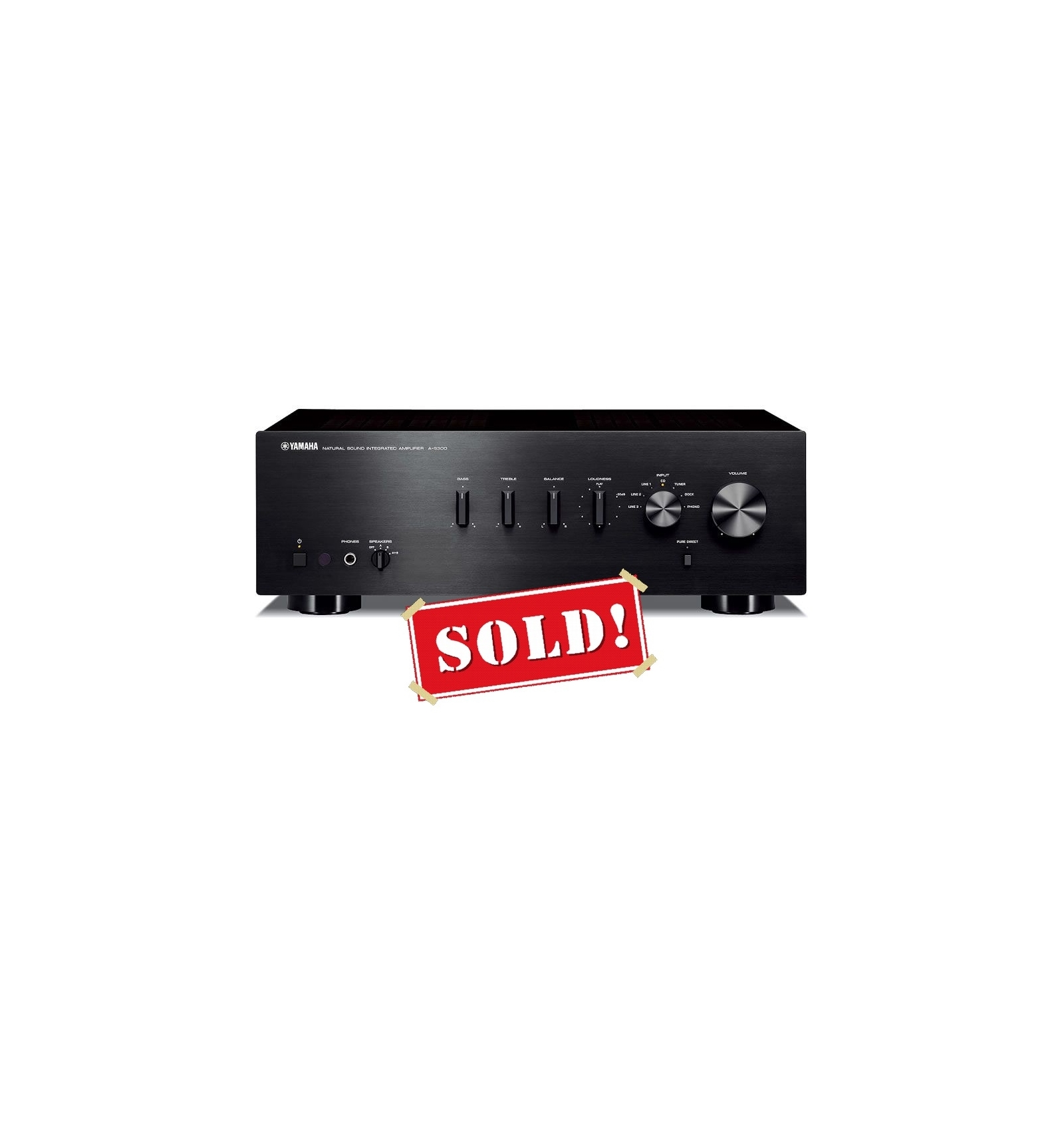 yamaha a s300 integrated amplifier camaross audio hifi. Black Bedroom Furniture Sets. Home Design Ideas