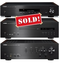 YAMAHA AS-2000 Amplifier, CD-S2000 SACD Player, S-1000 Tuner
