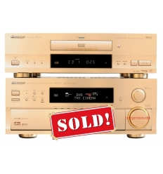 Pioneer VSA-E07 Amplifier DVD-717 Player