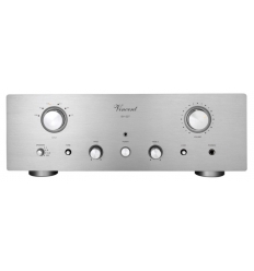 Vincent SV 227 Hybrid Stereo Integrated Amp. Silber