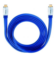 Oehlbach XXL MADE IN BLUE HDMI Cable (0,75mt)