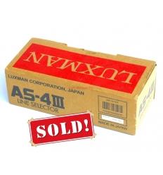Luxman AS-4-III Line Selector NOS